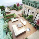 Озеленение крыши, террасы 25f7ea499790b2f062b2c989e720c501 roof gardens balcony ideas 150x150