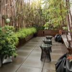 Озеленение крыши, террасы manhattan simple rooftop garden designs 150x150