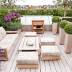 Озеленение крыши, террасы oformleniye terrasy zagorodnogo doma 16 variantov 01 150x150