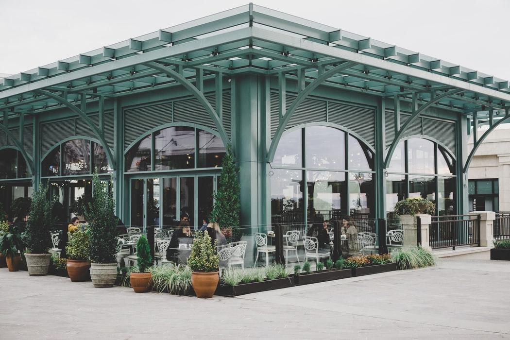 озеленение магазина