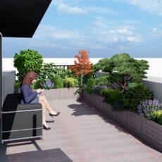 Озеленение крыши, террас