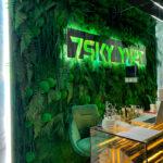 Подпись: Озеленение стабилизированным мхом и растениями, фотостудия, г. Киев